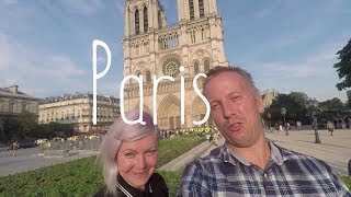 More river side wild camping and downtown Paris