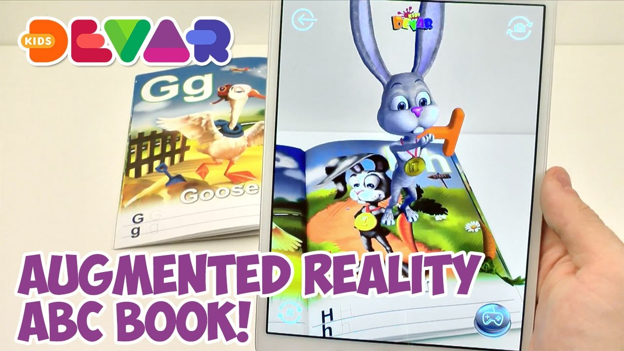 ABC 20 In Augmented Reality By DEVAR Kids