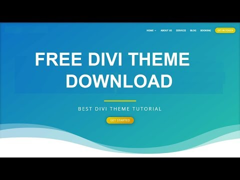 How to download Divi theme Free | Divi Page Builder installation