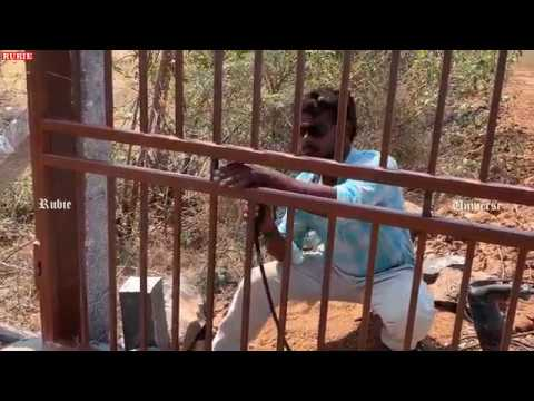 Welding a metal gate frame at my land