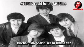 The Last Time-The Rolling Stones(subtitulado en ingles y español)[with lyrics]