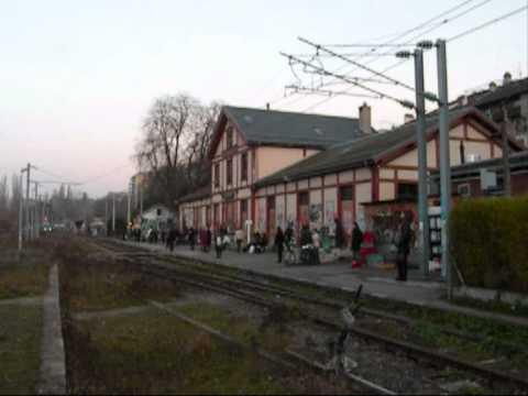 Gare Genève Eaux-Vives : derniers trains avant fermetures