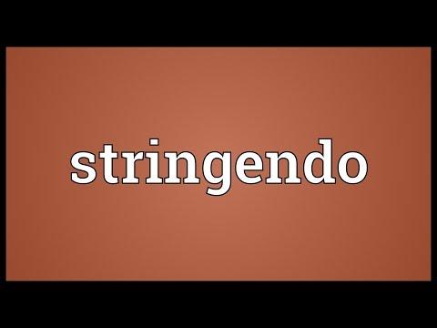 Header of stringendo