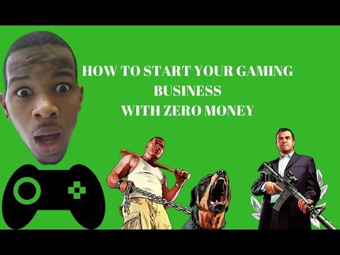 ONLINE GAMES : HOW TO START A GAMING BUSINESS TODAY (NO MONEY)