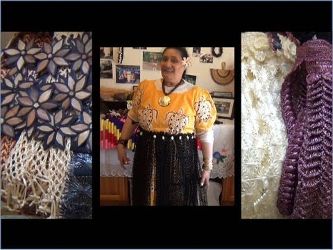 Seneti Hingano's Introduction of Tongan Handicraft -- Info (916) 524-2716