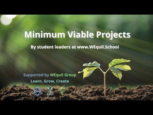 Minimum Viable Projects