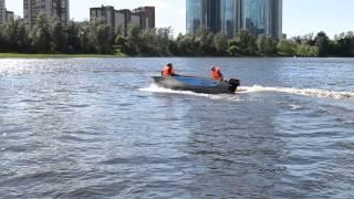Алюминиевая лодка Рейд 420 (Тест-драйв)(, 2015-06-08T14:45:30.000Z)