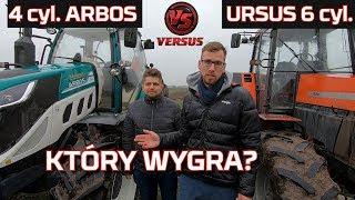 Silnik 6 cyl vs 4 Siła uciągu 💪 Ursus 1634 vs ARBOS ? Orka| Traktor | Moc | Nowy nabytek