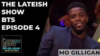 Mo Orders A Take Away mid Recording | The Lateish Show With Mo Gilligan BTS episode 4