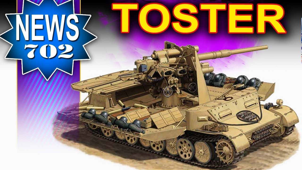 Rozkładany Toster w Wot – NEWS – World of Tanks