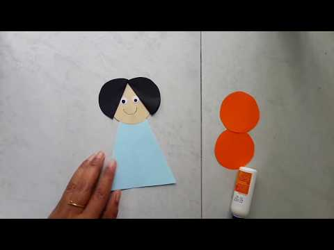 #paperdoll #papercraft #diy Easy Paper Doll Making Tutorial | Aloha Crafts