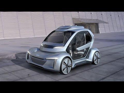 Italdesign Pop.Up Next - Flying Autonomous Car developed with Audi & Airbus