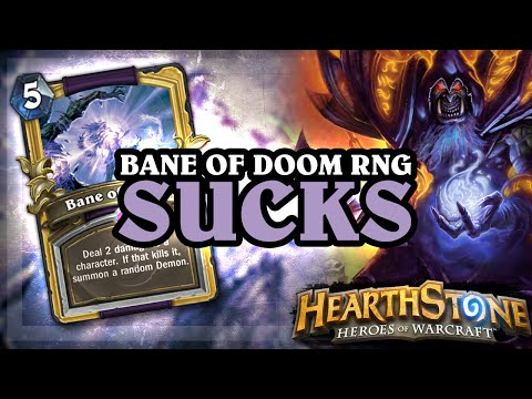 Bane of Doom RNG Sucks [Hearthstone Ranked Gameplay]
