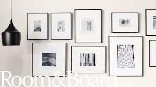 How to Create a Modern Frame Wall