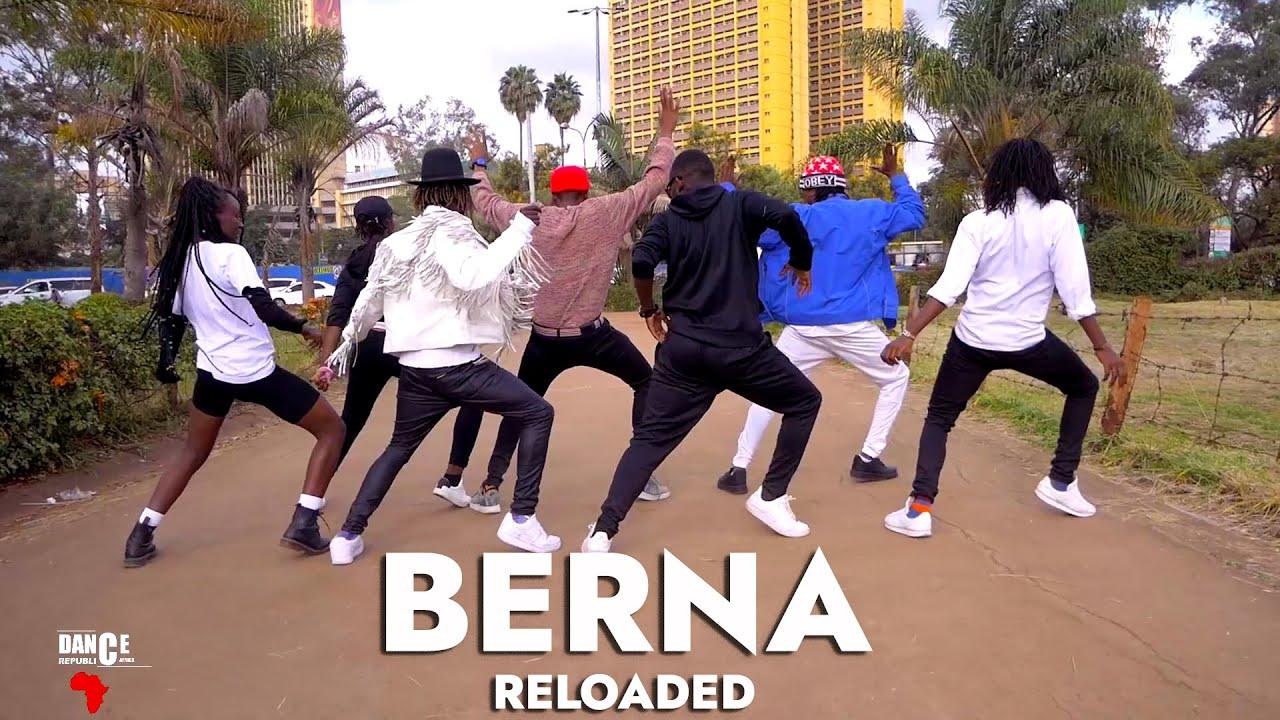 Download Flavour - BERNA Reloaded (Official Dance Video) ft. Diamond Platnumz   Dance Republic Africa