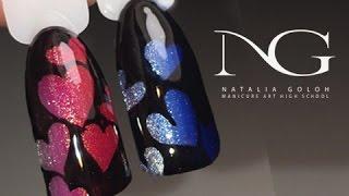 Маникюр на день Валентина: рисунки на ногтях / Valentine's Day Hearts Nails(Маникюр с сердечками - это самый популярный дизайн ногтей на день Влюбленных. В этом видео представлю роман..., 2017-01-31T06:25:08.000Z)