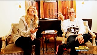 Logic & Wife Answer Fan Questions On J Cole, G-Eazy, Favorite Video Game + More