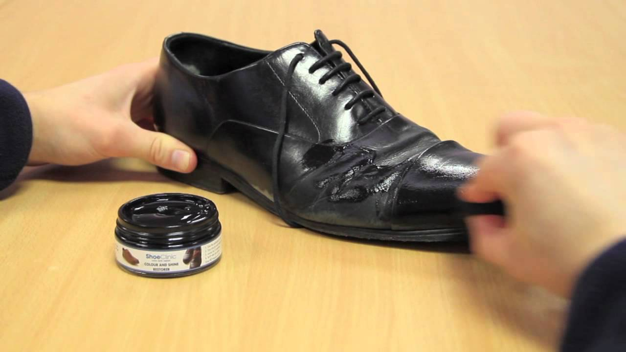 how to make leather shine