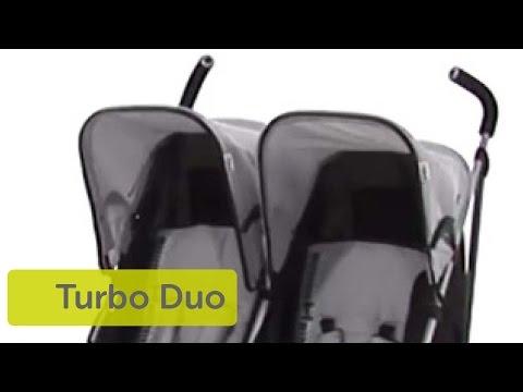 Hauck Turbo Duo Caviar Stone