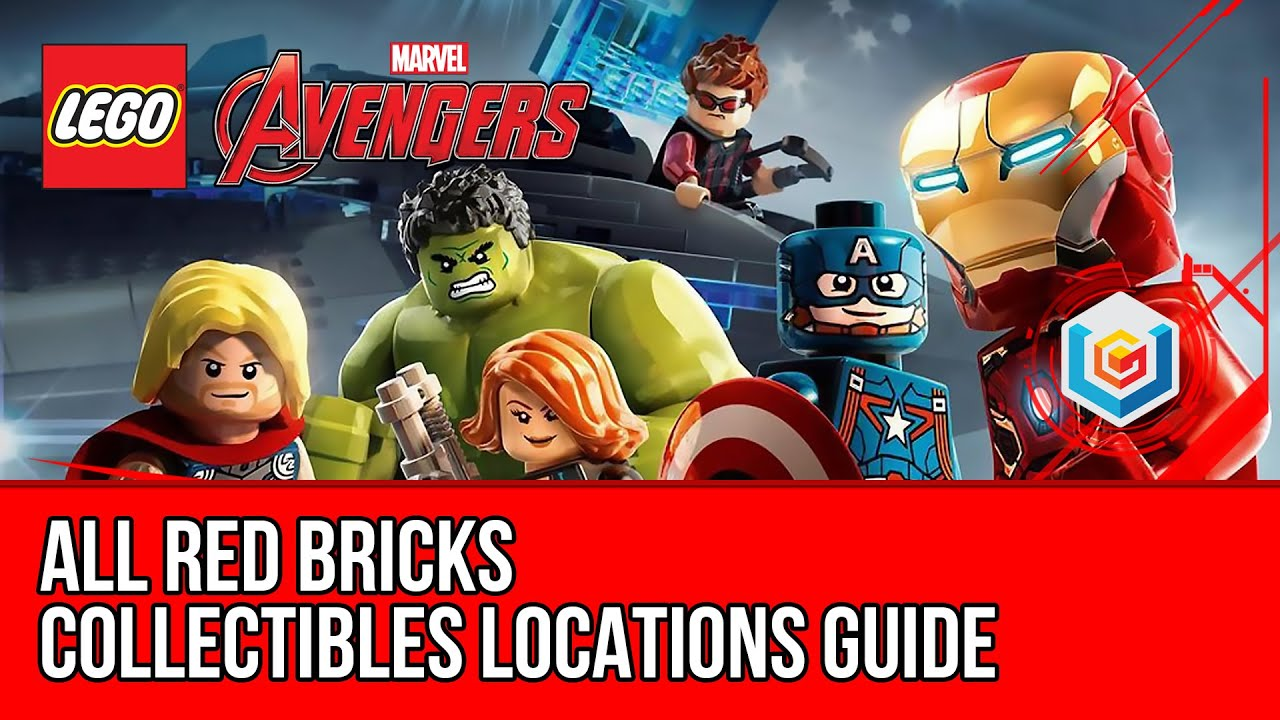 marvel lego 4x red brick