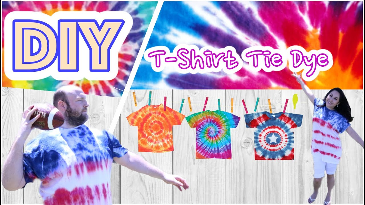 089fa8c503f5 DIY Tie Dye Shirts   DIY camisetas  4th of july american flag by WendyLou