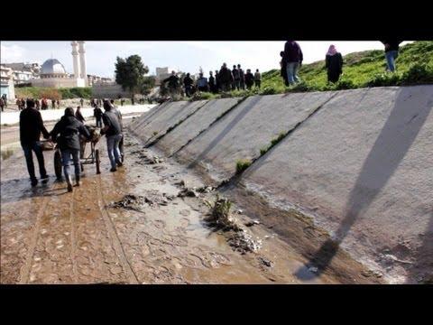 Dozens found shot execution-style in Syria's Aleppo