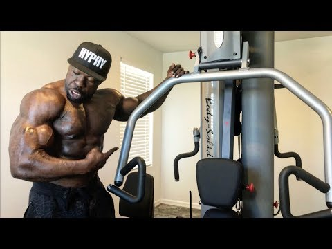 Kali Muscle :  HOME GYM SETUP