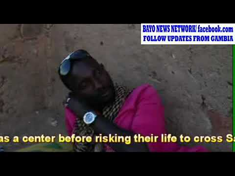 GAMBIANS MIGRANTS STRABDED IN NIGER CITY OF AGADEZ