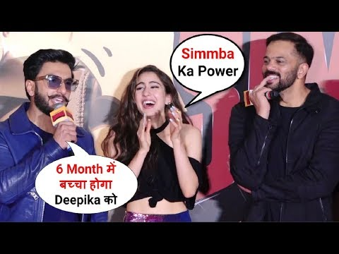 Ranveer Singh SHOCKING Reaction On Deepika Padukone Pregnancy At Simmba Trailer Launch
