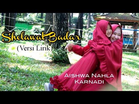 Sholawat Badar Adek Baju Merah New Version Aishwa Nahla Karnadi