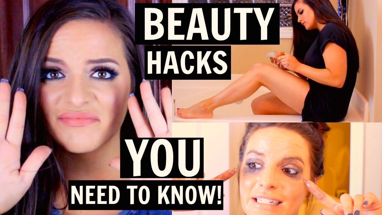 BEAUTY HACKS YOU NEED TO KNOW! | Casey Holmes