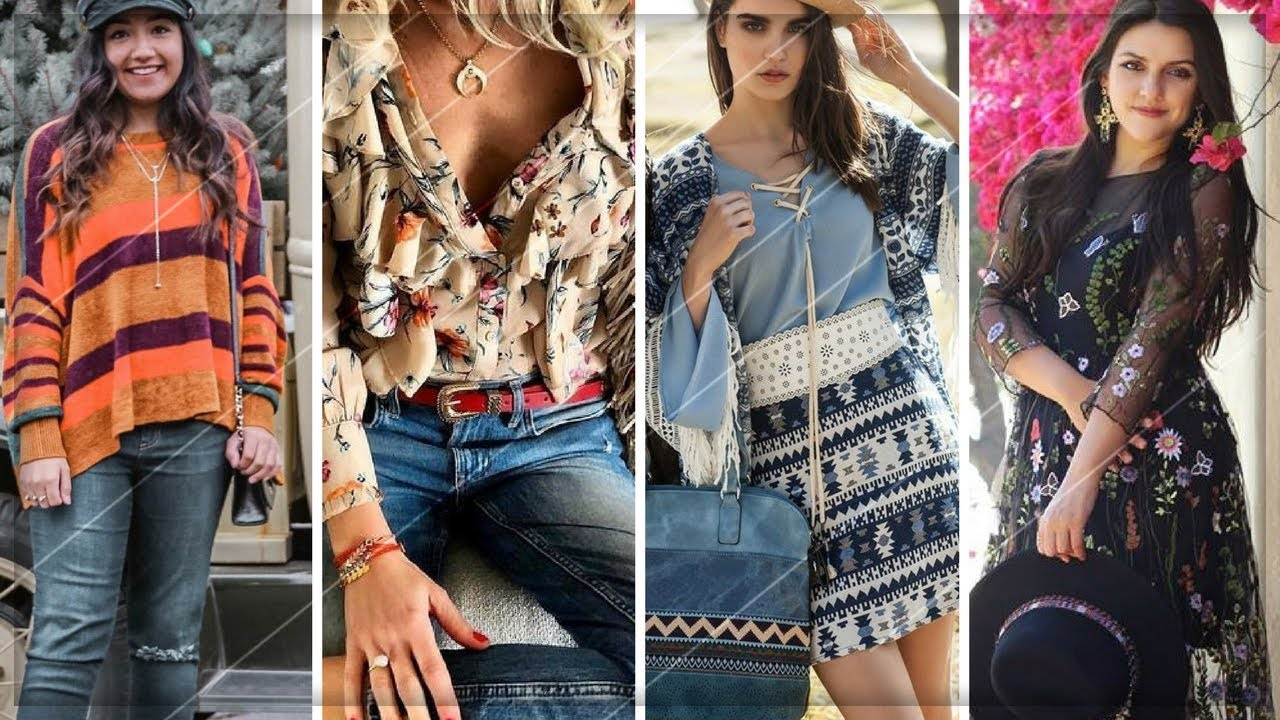 THE TRENDIEST BOHO CHIC OUTFITS FOR THIS SPRING / SUMMER 2018