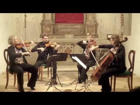 W. A. Mozart Quartetto in Re maggiore KV 575, Quartetto di Fiesole