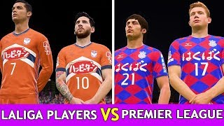 Fifa 18 [ laliga vs epl ] experiment #3 ( xbox one , ps4 ,ps3, pc ) 4k