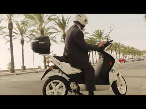 Electric scooters with MAHLE drives conquer Barcelona