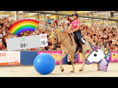 MOOS EEN UNICORN?! Kijkers bepalen mijn Horse Event dag! | Vlog #120