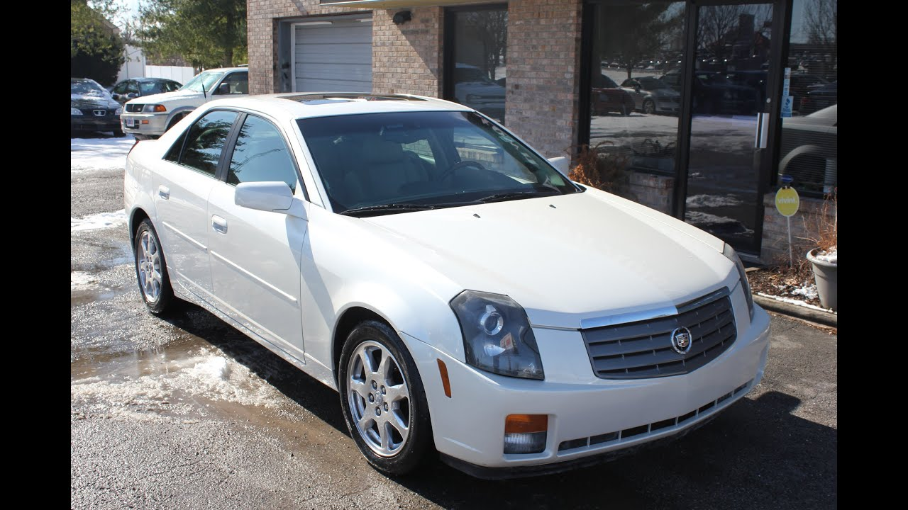 Used 2003 Cadillac Cts Luxury For Sale Georgetown Auto
