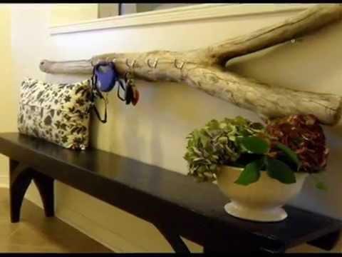 Чудесные предметы интерьера из веток, коряг