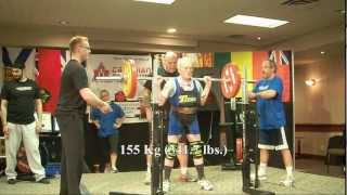 Joe Stockinger competes at the Canadian Powerlifting Union Nationals 2012