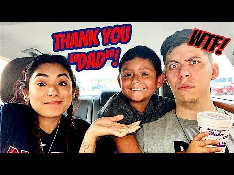 I HAD MY SON CALL MY BOYFRIEND DAD TO SEE HOW HE WOULD REACT!! Read description*