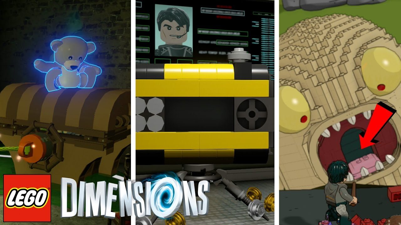 lego dimensions hidden areas 4 mission impossible. Black Bedroom Furniture Sets. Home Design Ideas