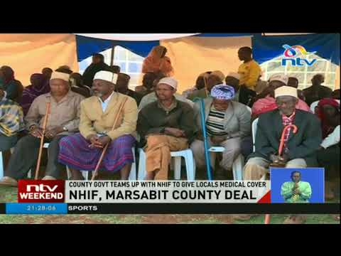 Marsabit county government teams up with NHIF