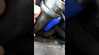 Changement durite turbo Renault Scénic 3 dci