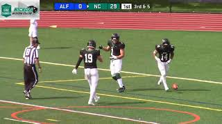 Gambar cover Nichols College Football vs Alfred St. 9-22-18