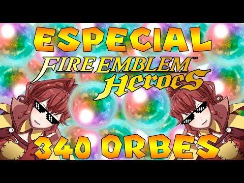 Fire Emblem Heroes -- Especial Invocación 340 orbes -- ¿Como saldrá el primer especial de Ahostar?