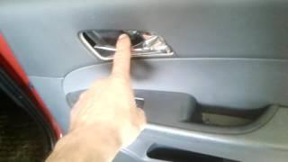 разборка карты двери на  Hyundai i30 своими руками
