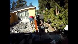 Golden Gate Enterprises Sf Bay Area General Contractor Failed Tile Deck Dean Duradek Waterproof Deck
