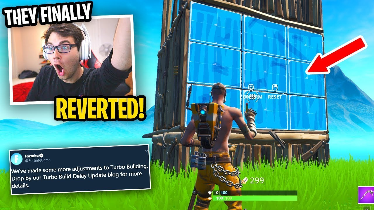 Fortnite Finally Reverted The Update They Fixed The Game