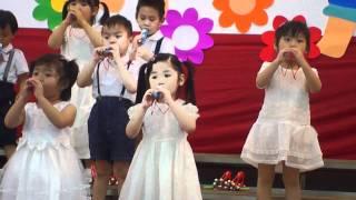 幼稚園音樂會~詩歌表演