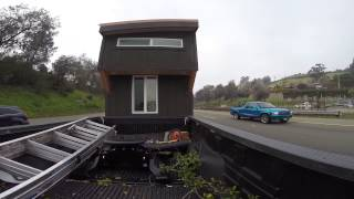 Moving The Tiny House From Tiny House Nation Episode: 224 Sq Ft Entertaining Abode